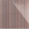 3D Стекло Barcode коричневый с серебром 600х600х5мм