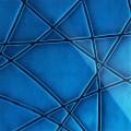 3D Стекло Nets синий 600х600х5мм