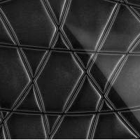 3D Стекло Nets черный 600х600х5мм