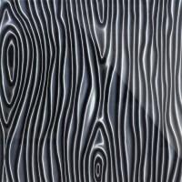 3D Стекло Structure черный 600х600х5мм
