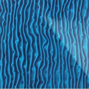 3D Стекло Tree синий 600х600х5мм